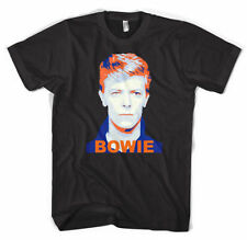 Gildan David Bowie Solid T-Shirts for Men