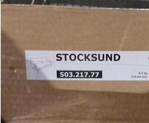 IKEA Stocksund 3 Seat Sofa SLIPCOVER Ljungen GRAY COVER Grey Velvet