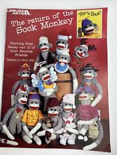 Leisure Arts The Return of The Sock Monkey Patterns # 1866