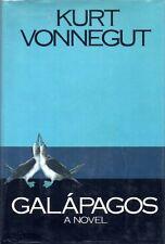 KURT VONNEGUT - SIGNED FIRST EDITION - GALAPAGOS Delacorte 1985 hc ed