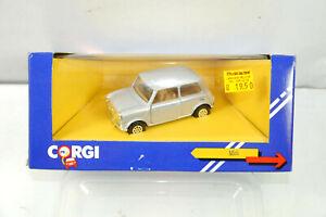 CORGI C330/9 Mini Cooper City Silver Metal Model Car 1:43 (K39) #K