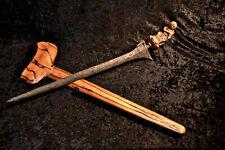 Unusual Antique Vintage Keris Dagger Sword Damascus