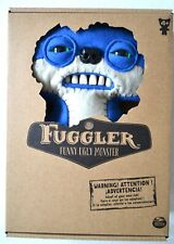 """NEW Fuggler 9"""" Plush - Suspicious Fox Blue Funny Ugly Monster BRAND NEW IN BOX"""