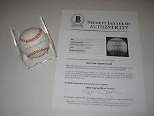 DEREK JETER Signed Official American League Baseball w/ Beckett LOA - Rookie-era