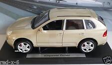 Porsche Cayenne Turbo, Maisto Porsche Verpackung, neuwertig