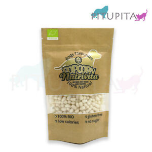 10x 100g Nutrivita Popcorn Reis m.Lebergeschmack Hundepopcorn Hund nur 0,8% Fett