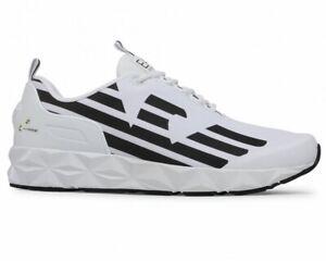 Emporio Armani X8X033 XCC52 C2 Mens Trainers White EA7 Shoes Sneakers