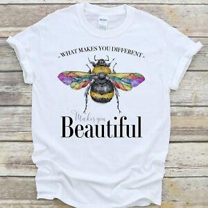 LGBTQ T Shirt Bumble Bee Beautiful Pride Equality Unisex Gift - Premium Quality