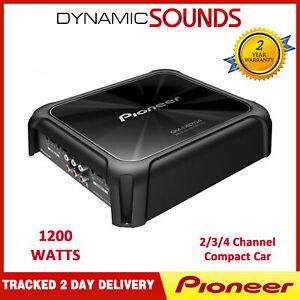 Pioneer GM-D8704 4 Channel Class-D Bridgeable Car Amplifier 1200W