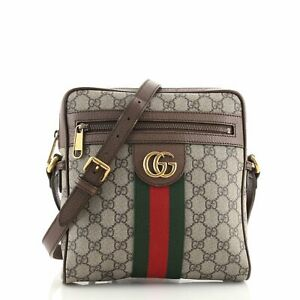 Gucci Ophidia Messenger Bag GG Coated Canvas Small