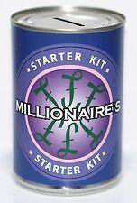 Millionaire Savings Tin - Money Savings Jar - Millionaire Starter Fund Box