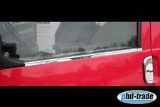 Mercedes Vito W638 V Klasse Chrom Fensterleisten aus Edelstahl 1995-2003