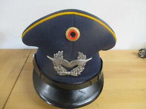 BW. Schirmmütze Selbsteinkleider Luftwaffe Alter Art Neuwertigster Zustand
