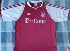 Camiseta Trikot Shirt BAYERN MÜNCHEN Munich Adidas Season 2003 SIze L