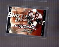 2002-03 Upper Deck MVP Shifting to Overdrive Peter Forsberg #SO6 HOF Avalanche