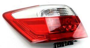2013-2015 HONDA ACCORD EXL REAR LEFT TAIL LIGHT ASSY OEM