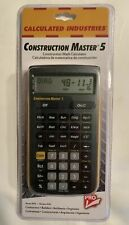 Calculated Industries Construction Master 5 Scientific Calculator