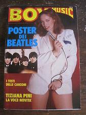 CORRIER BOY MUSIC Anno VIII #21/22  FUMETTI  Italian Language BEATLES poster!