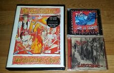 DOGS D'AMOUR CD/VHS Boxset More Unchartered..+TYLA  2 CD * RARE* QUIREBOYS-SPIKE