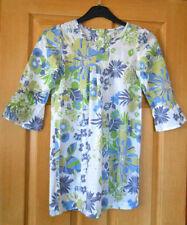 Girls' 100% Cotton 3/4 Sleeve Sleeve Tunic T-Shirts, Top & Shirts (2-16 Years)
