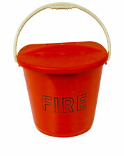 NEW FIRE BUCKET & LID (Plastic)
