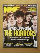 NME AUGUST 6 2011 THE MACCABEES NOEL GALLAGHER AMY WINEHOUSE THE HORRORS NIRVANA