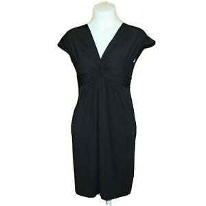 Studio M Gabriel Knot-Front Cap Sleeve Sheath Casual Dress Size XS