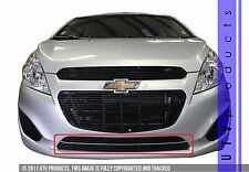 GTG 2013 - 2015 Chevy Spark 2PC Gloss Black Bumper Insert Billet Grille Grill