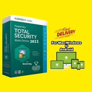 KASPERSKY TOTAL SECURITY 2021 GLOBAL VERSION 1YEAR  FOR 1PC WINDOWS/MAC/ANDROID