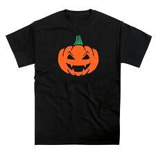 Halloween Orange Pumpkin Face Tshirt