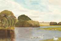 S.R. Webster - Contemporary Watercolour, Petworth House