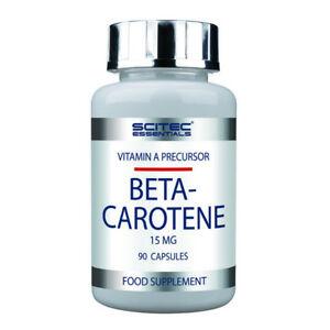 SCITEC Essential Beta Carotene 90 capsule - precursore vitamina A