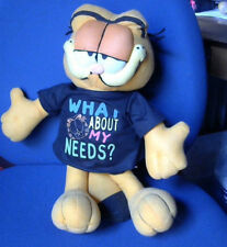 Jim Davis/Large Soft Garfield Toy - What About My Needs