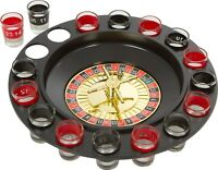Drinking Roulette Set Game Wine with Casino Spin Shot Glass Party Fun TR0003