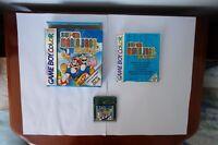 Super Mario Bros Deluxe Nintendo Game Boy Color Gameboy original PAL EUR 1999