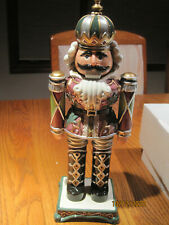Fitz and Floyd Limited Edition King Nutcracker Small 13""