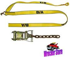 Qty. 4, SPORTS CAR Damage Free TIE DOWN STRAPS & RATCHETS **Easy to Use**