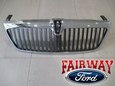 2003 & 2004 Lincoln Navigator OEM Genuine Ford Chrome Grill Grille w/Emblem NEW