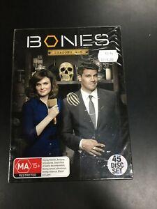 BONES : SEASONS 1 - 8 - DVD Region 4 - BRAND NEW SEALED