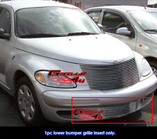 Fits Chrysler PT Cruiser Bumper Billet Grille Grill Insert 2000-2005