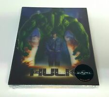 THE INCREDIBLE HULK Blu-ray STEELBOOK [NOVAMEDIA] LENTICULAR [KOREA] [#323] OOP