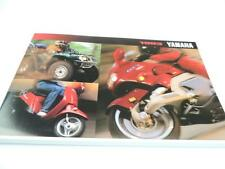 1993 Yamaha RT180 YZ80 YZ125 RT100 Scooter Motorcycle Dealer Brochure L2760