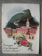 LIQUIGAS THE MIO COUNTRY Booklet 20 Pages illustrated ORIGINAL Calendar 1939