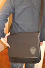 Authentic GUCCI Black Men's  Messenger Bag w/Hysteria Crest, Black, 282524  NEW