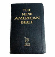The New American Bible Catholic St Paul Edition 1976 Black Imitation Leather