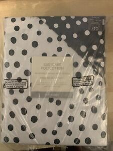 Homestore Reversible Mono Spot Design Single Duvet Cover & Pillow Case, New