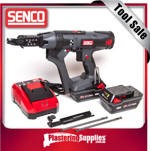 Senco Screwgun Cordless + 2x Batteries + Charger DuraSpin Auto-Feed DS215-18V