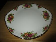 Royal Albert Old Country Roses Bone China 9.5 ACROSS  Serving Plate– England