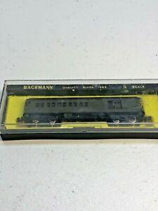 Bachmann  N scale Santa Fe 65'  Lighted Standard Combine Passenger Car #  1503