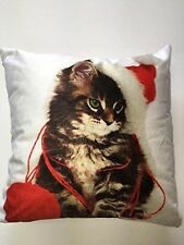 Unbranded Polyester Christmas Decorative Cushions & Pillows